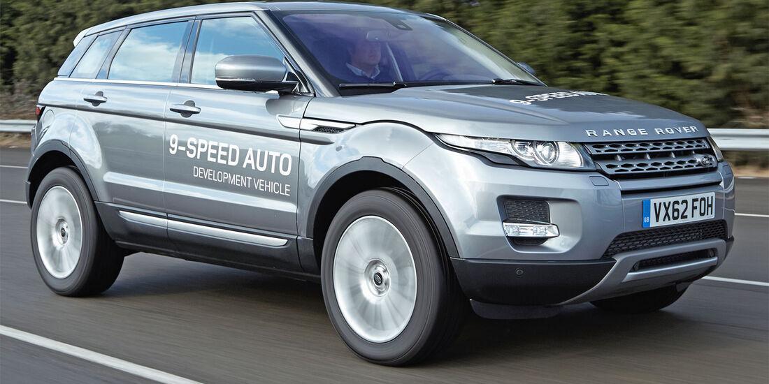 Range Rover Evoque Erprobungsfahrzeug ZF 9-Gang-Automatik