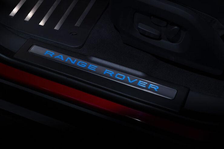 Range Rover Evoque Fünftürer, Einstiegsleiste