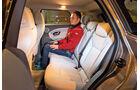 Range Rover Evoque TD4, Fondsitze