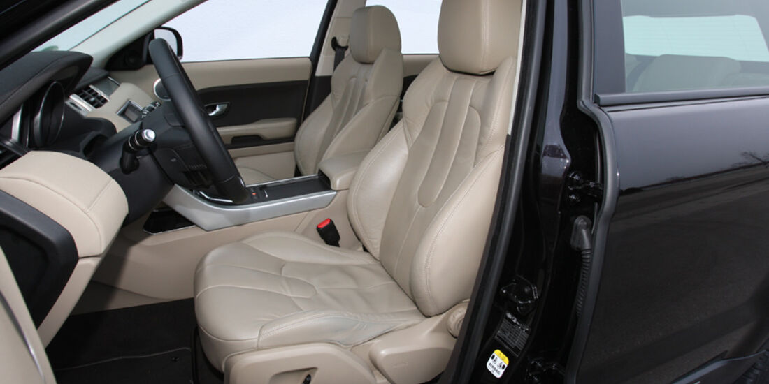 Range Rover Evoque TD4 Pure, Sitze
