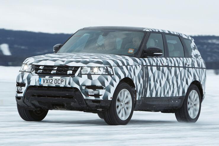 Range Rover Sport, Frontansicht