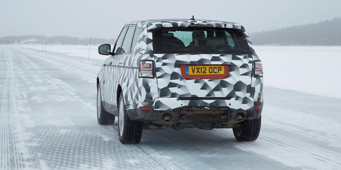 Range Rover Sport, Heckansicht
