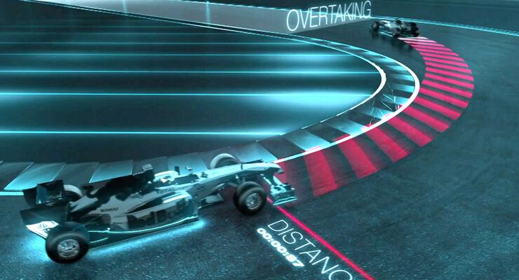Rearwing F1 - Animation
