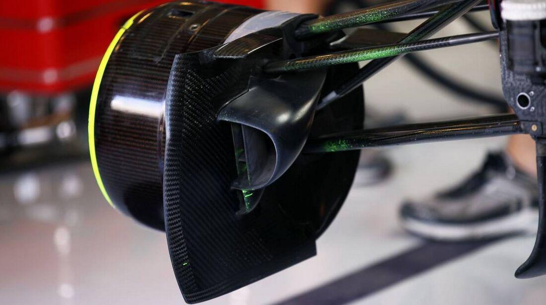 Red Bull Bremsbelüftung - Formel 1 - GP Abu Dhabi - 01. November 2012