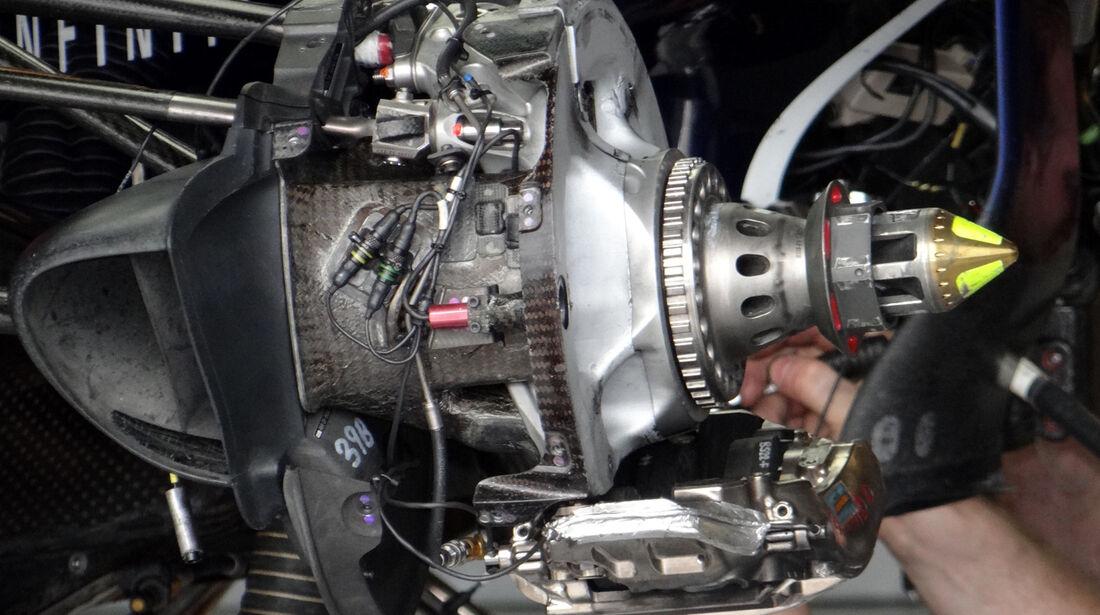Red Bull Bremse Formel 1 2012