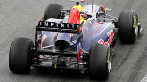 Red Bull F1 Test 2011