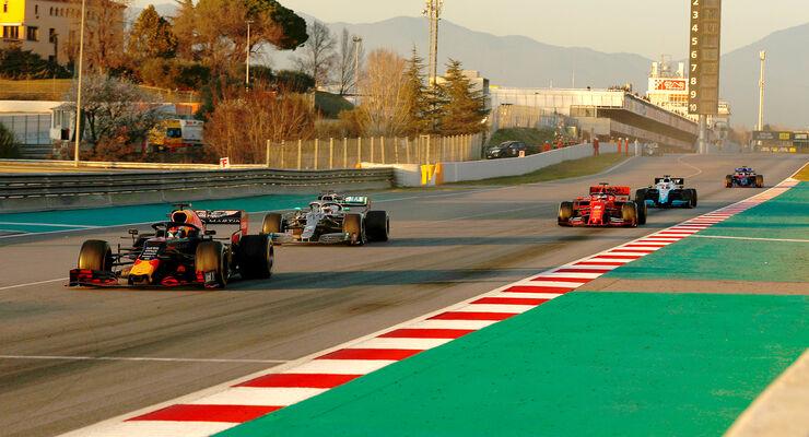 Red Bull - F1-Test - Barcelona 2019