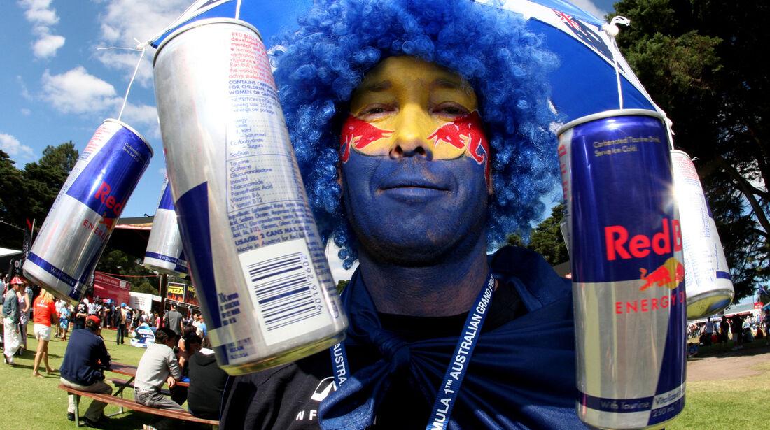 Red Bull Fan GP Australien 2012