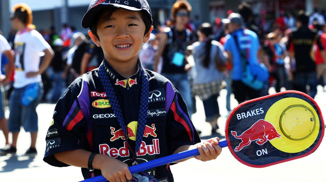 Red Bull-Fan - GP Japan 2013