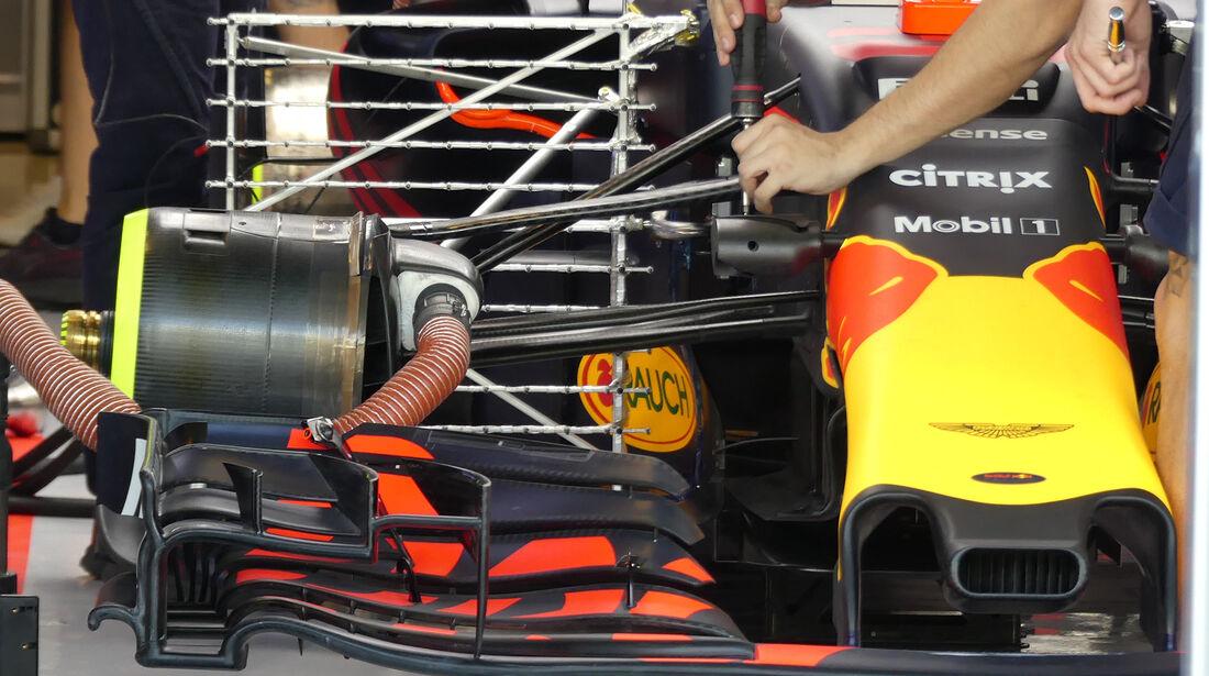 Red Bull - Formel 1 - GP Abu Dhabi - 24. November 2017