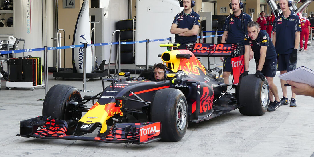 Red Bull - Formel 1 - GP Abu Dhabi - 25. November 2016