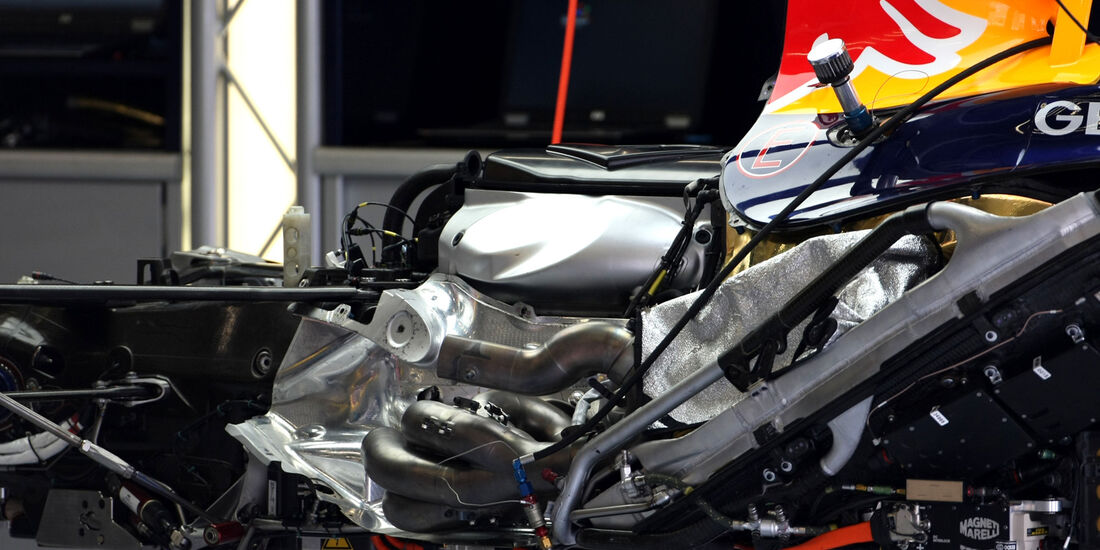 Red Bull - Formel 1 - GP Belgien - Spa - 30.8.2012