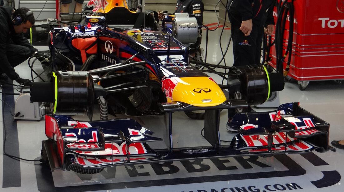 Red Bull - Formel 1 - GP Belgien - Spa-Francorchamps - 31. August 2012