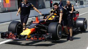Red Bull - Formel 1 - GP Italien - 30. August 2018