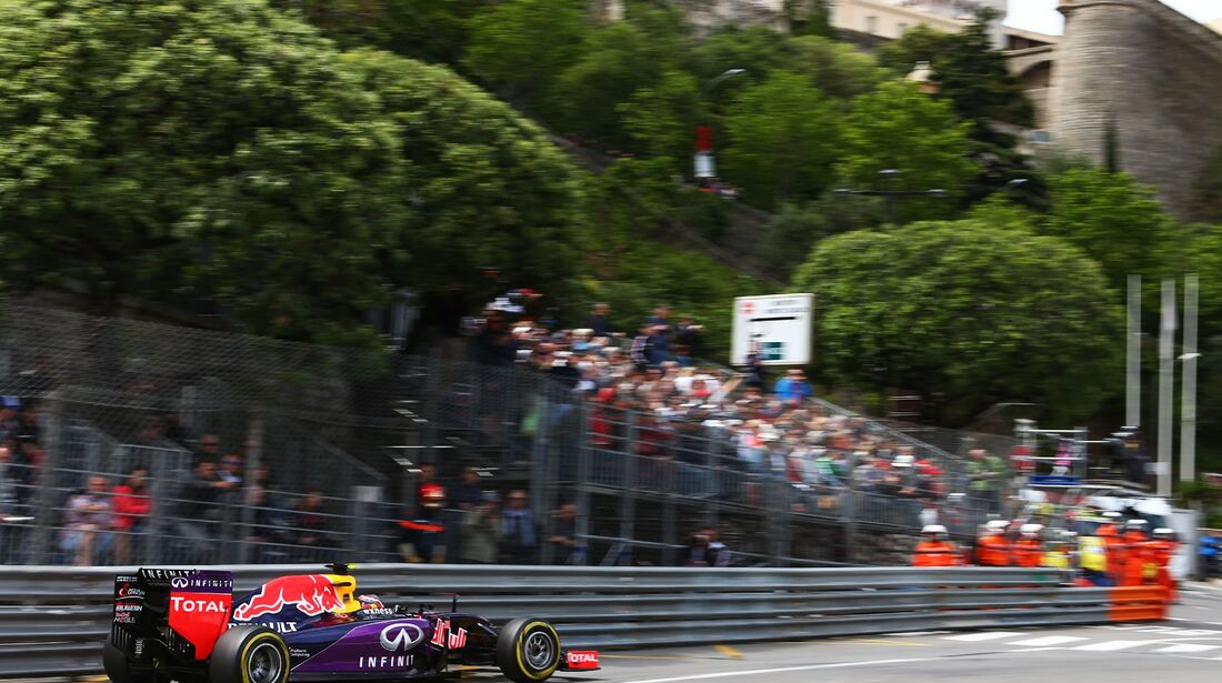 Red Bull  - Formel 1 - GP Monaco - Donnerstag - 21. Mai 2015