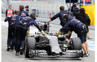 Red Bull - Formel 1-Test - Barcelona - 1. März 2015