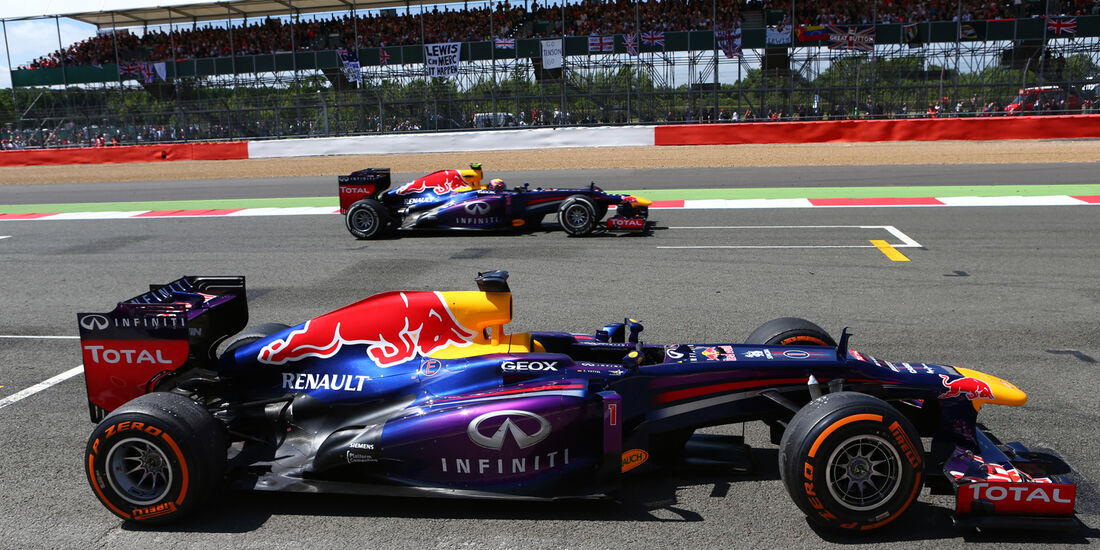Red Bull - GP England 2013