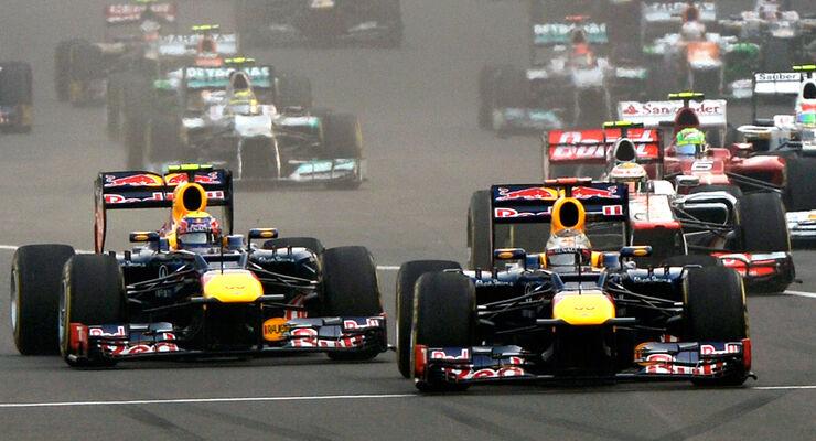 Red Bull GP Indien 2012