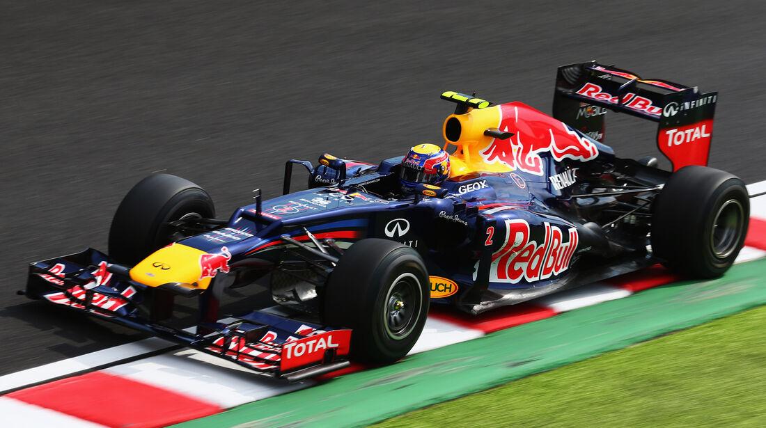 Red Bull GP Japan 2012 Doppel DRS