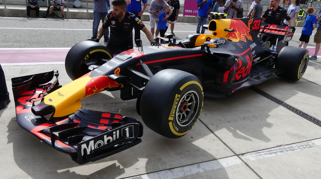 Red Bull - GP USA - Austin - Formel 1 - Donnerstag - 19.10.2017
