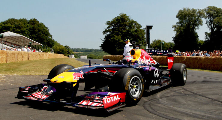 Red Bull - Goodwood 2013
