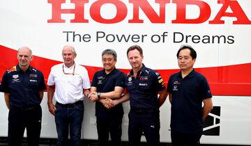 Red Bull - Honda - Motorenpartner-Foto - F1 2018