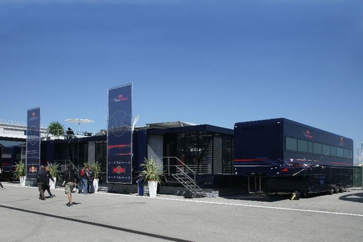 Red Bull Motorhome GP Türkei 2011