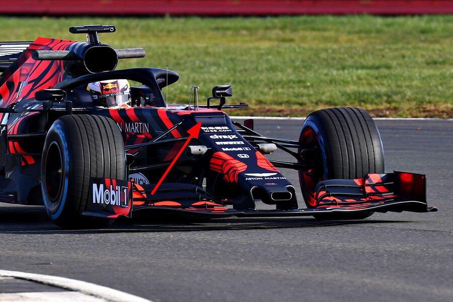 Red-Bull-RB15-Shakedown-Silverstone-Form