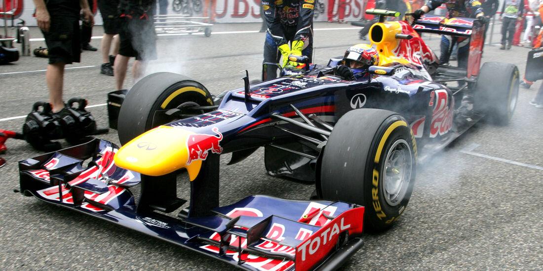 Red Bull RB8 Mark Webber GP China Rauch 2012