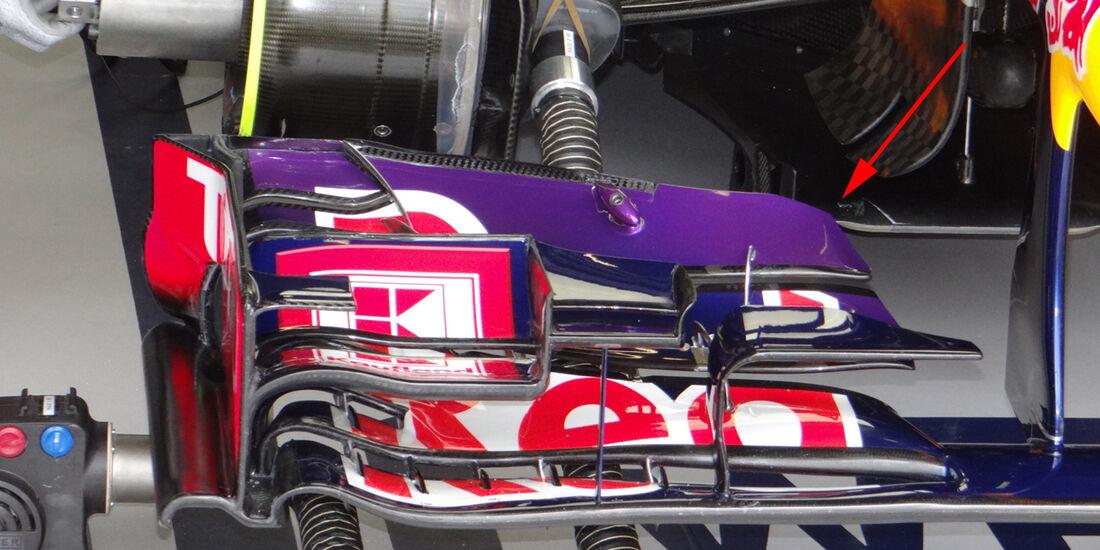 Red Bull - Technik - GP Ungarn 2013