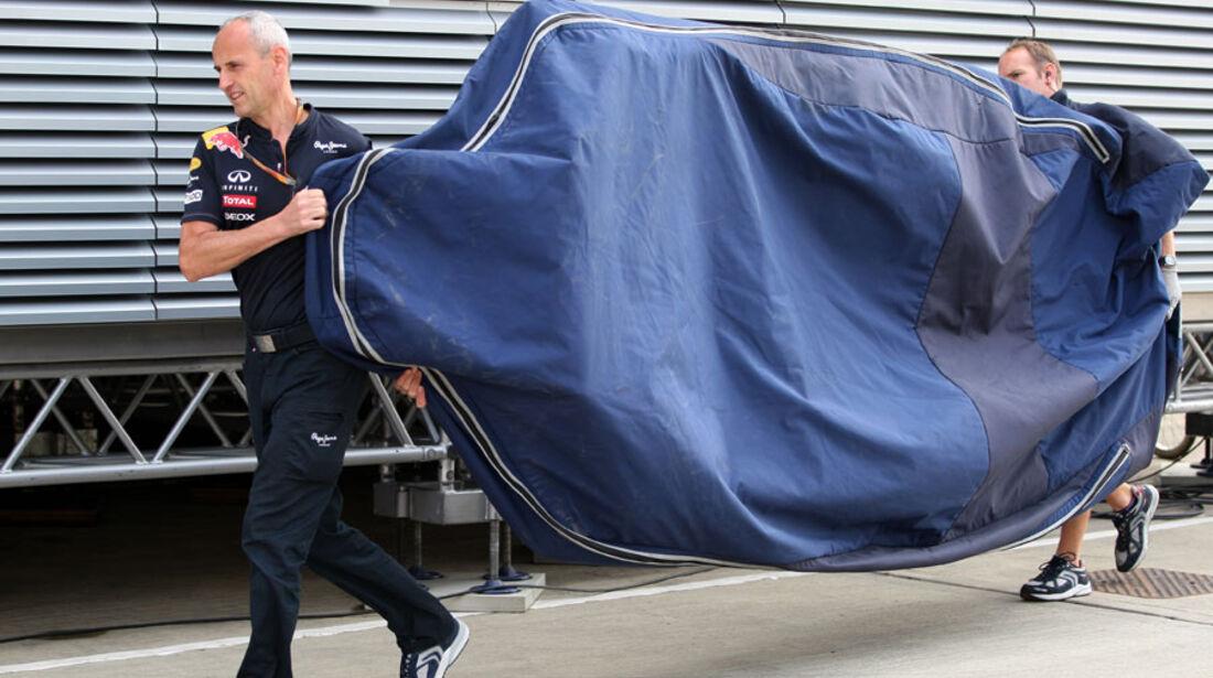 Red Bull-Unterboden - GP England - Qualifying - 9. Juli 2011