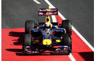 Red Bull Vettel Formel 1 Test Barcelona 2011
