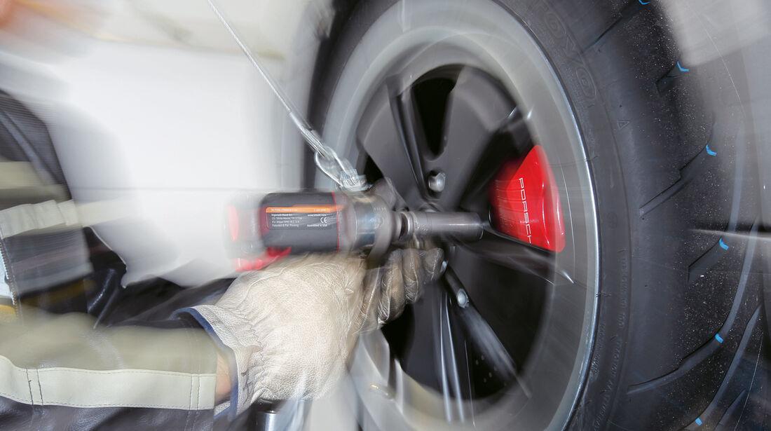 Reifen, Montage