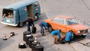 Reifentest, BMW, Reifenwechsel