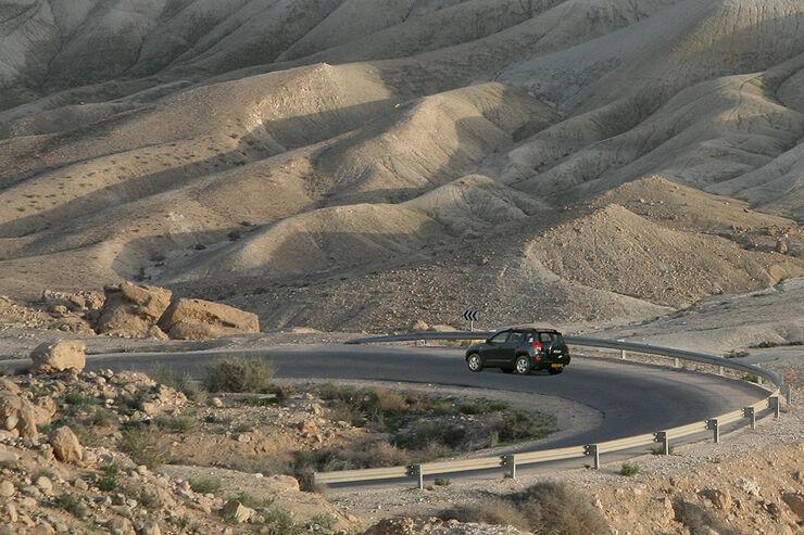 Reise Israel im Toyota RAV4