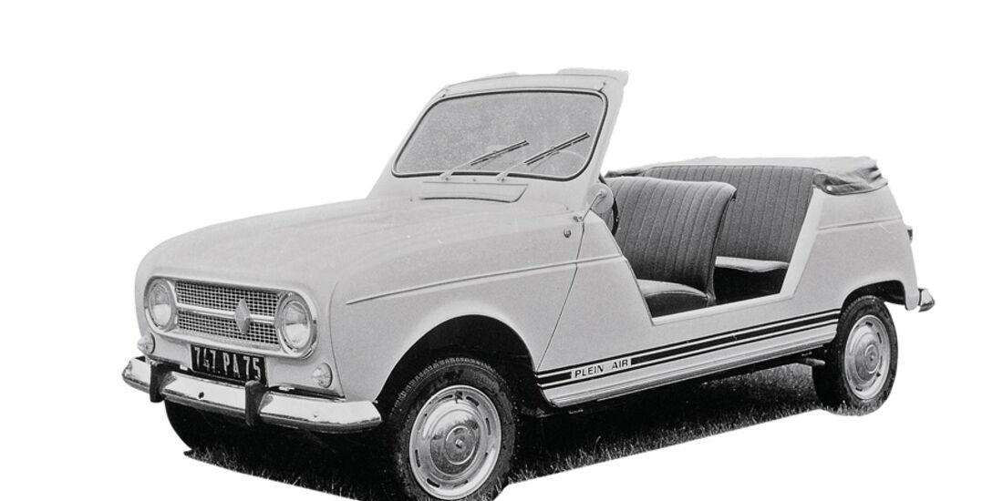 Renaul 4, Plein Air, Cabrio