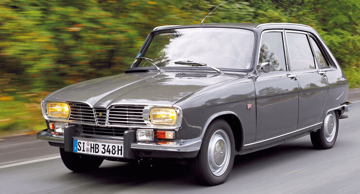 Renault 16, Frontansicht