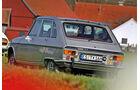 Renault 16 TX, Heckansicht