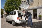 Renault 4, Starnberg, Heckklappe, offen