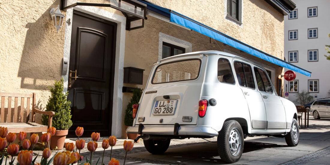 Renault 4, Starnberg, Rückansicht