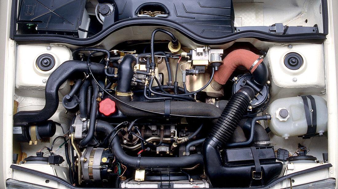 Renault 5 GT Turbo, Motor