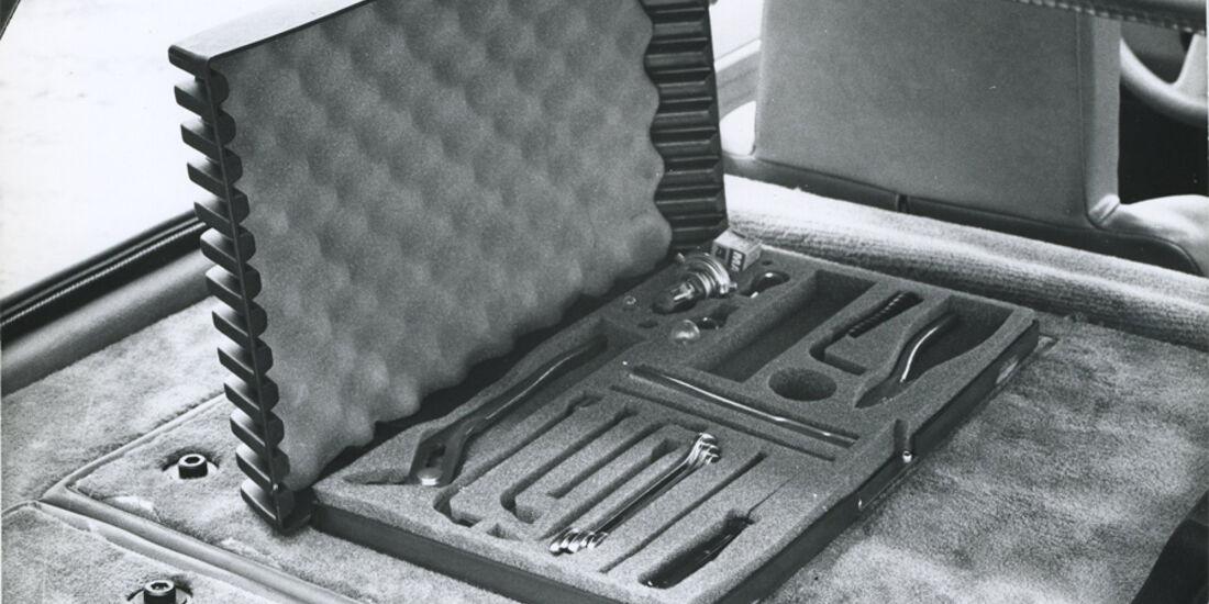 Renault 5 Turbo - Bordwerkzeug