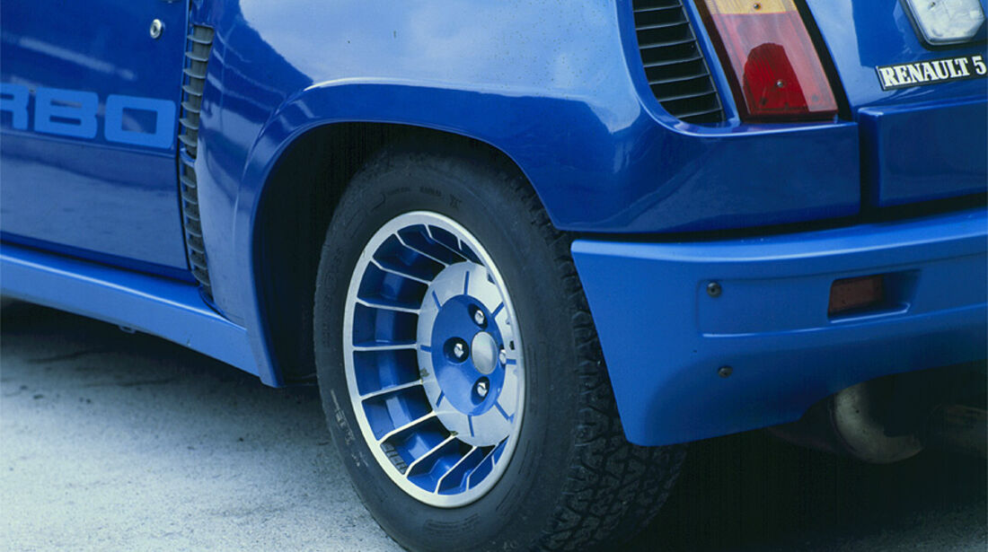 Renault 5 Turbo - Leichtmetallfelgen