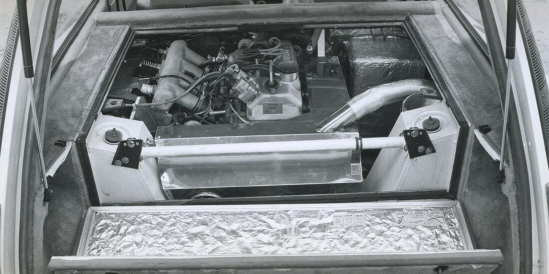 Renault 5 Turbo Motor