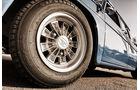 Renault 8 Gordini 1300, Rad, Felge