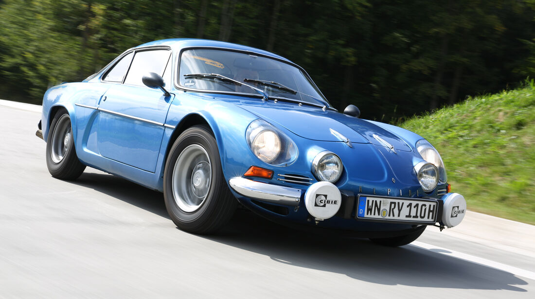 Renault Alpine A110 1300 VC, Frontansicht