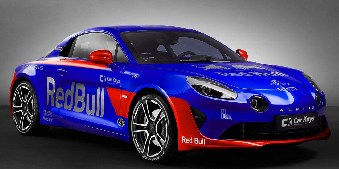 Renault Alpine A110 - Toro Rosso STR12 - Lackierung