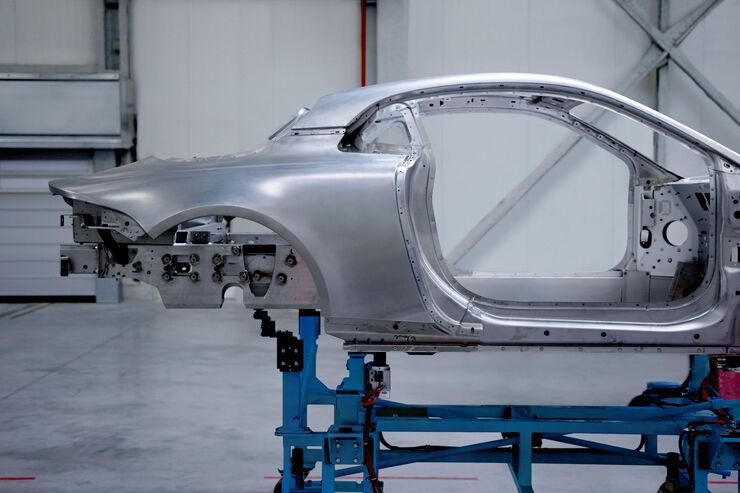 Renault Alpine - Aluminium-Karosserie