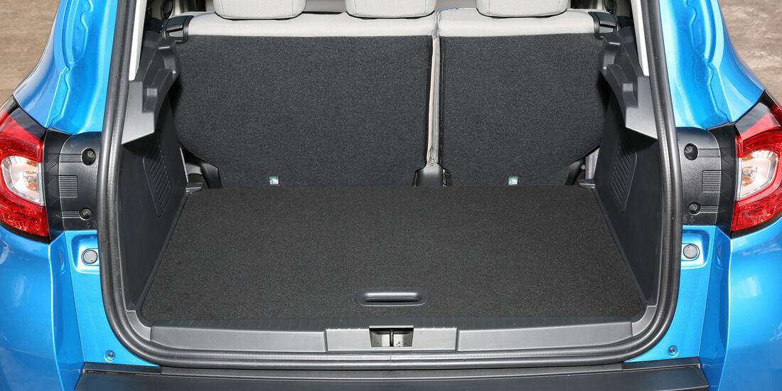 Renault Captur TCe 120, Kofferraum