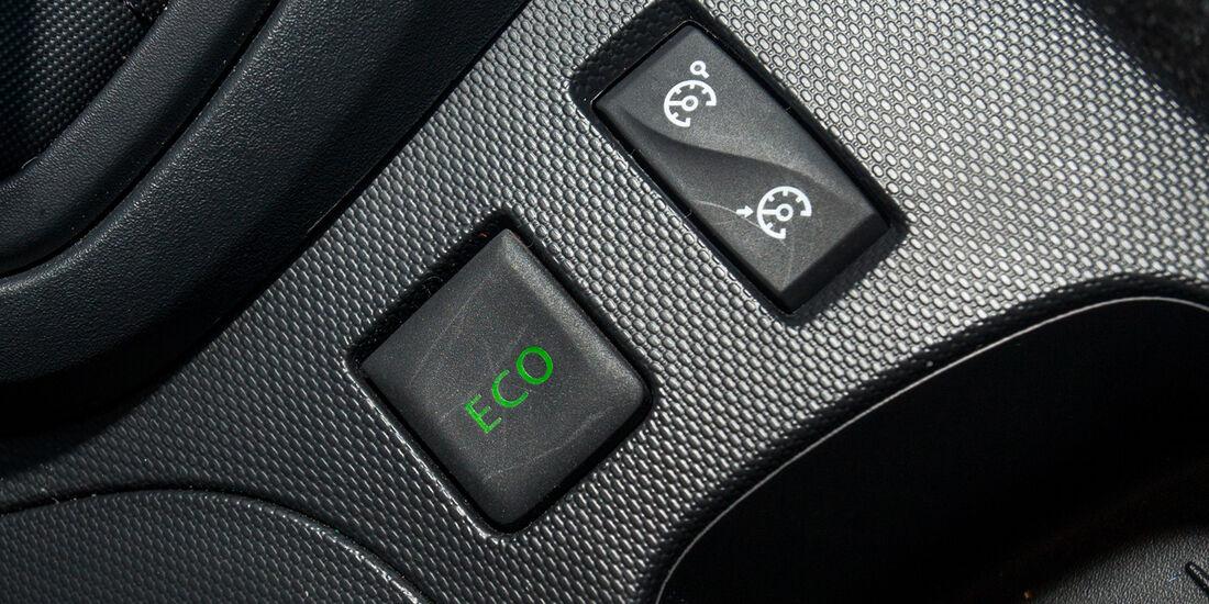 Renault Captur dCi 90, Bedienelemente